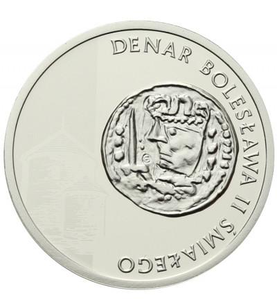 Polska 5 złotych 2013, Historia Monety Polskiej - Denar Bolesława II Śmiałego