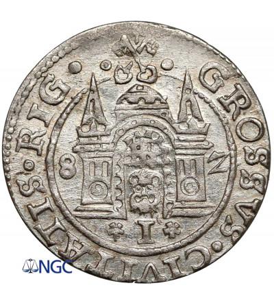 Poland. Stefan Batory. Grosz (Groschen) 1582, Riga mint - NGC MS 63