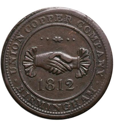 Wielka Brytania 1 Penny Token 1812, Birmingham - Union Copper Company
