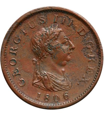 Wielka Brytania 1 Penny 1806, Jerzy III 1760-1820
