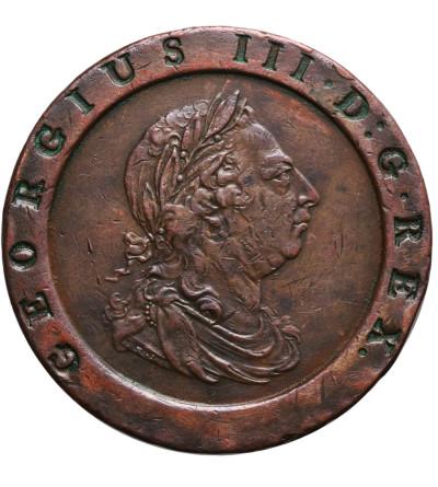 """Wielka Brytania 2 pensy 1797, Cartwheel, tzw. """"koło wozu"""""""