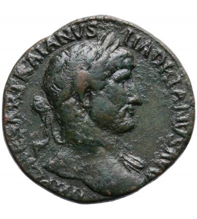 Rzym Cesarstwo. Hadrian 117-138 AD. AE Sestercja, 119-120 AD, Rzym (Felicitas)