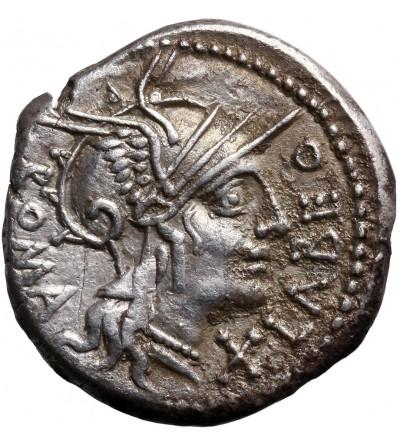 The Roman Republic. Q. Fabius Labe, AR Denarius 124 BC. Rome mint
