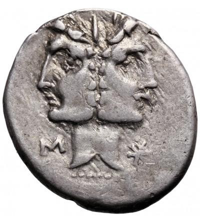 Rzym Republika. C. Fonteius, AR Denar 114-113 r. p.n.e., mennica Rzym