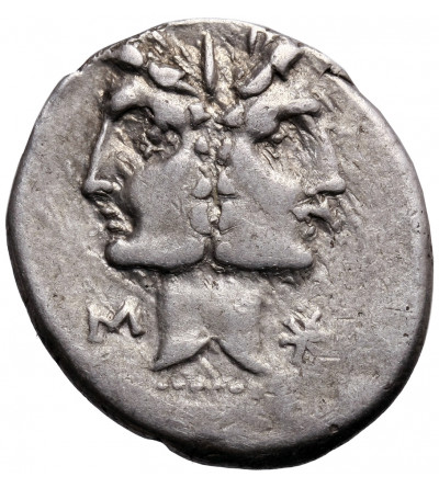 The Roman Republic. C. Fonteiuss, AR Denarius 114-113 BC. Rome mint