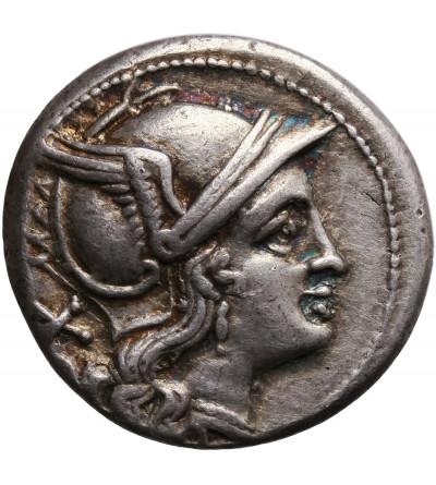 Rzym Republika. Anonimowy, AR Denar bity po 211 r. p.n.e., mennica Rzym