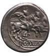 The Roman Republic. Anonymous, AR Denarius, after 211 BC. Rome mint