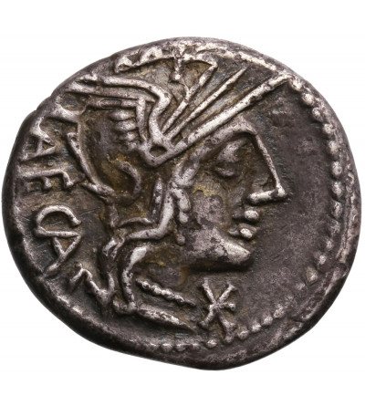 Rzym Republika. M. Porcius Laeca, AR Denar 125 r. p.n.e., mennica Rzym