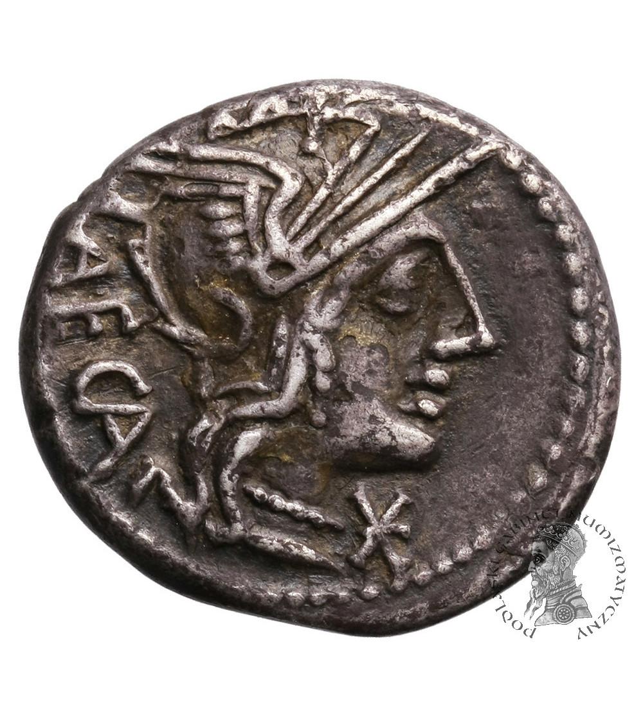 The Roman Republic.  M. Porcius Laeca, AR Denarius 125 BC. Rome mint