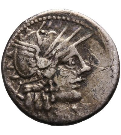 The Roman Republic. Cn. Carbo, AR Denarius 121 BC. Rome mint