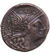 Rzym Republika. Publius Calpurnius, AR Denar 133 r. p.n.e., mennica Rzym