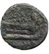 Rzym Republika. Caecilius Metellus, AE quadrans 194-190 r. p.n.e., mennica Rzym