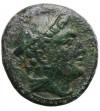 The Roman Republic. Anonymous AE Semuncia 215-212 BC. Rome mint