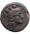 Rzym Republika. Anonimowy Luceria, ciężki Quadrans 214-212 r. p.n.e.