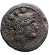 The Roman Republic. Anonymous, Luceria, heavy Quadrans, circa 214-212 BC