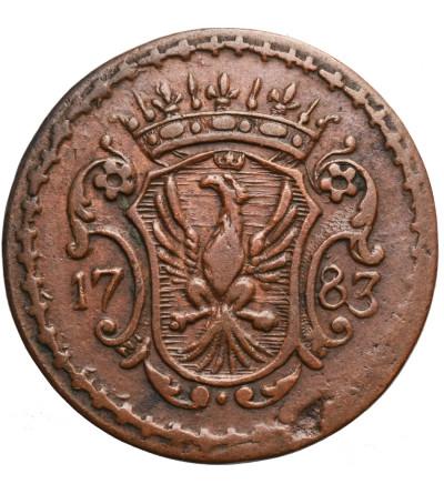 Italy. Modena, Cu Bolognino 1783, Ercole III d'Este 1780-1796