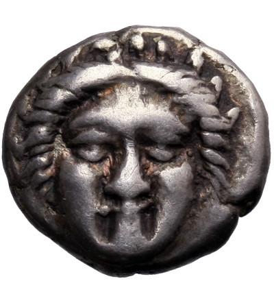 Grecja. Tracja, Apollonia Pantyjska (Apollonia Pontika). AR Diobol ok. 400-350 p.n.e.