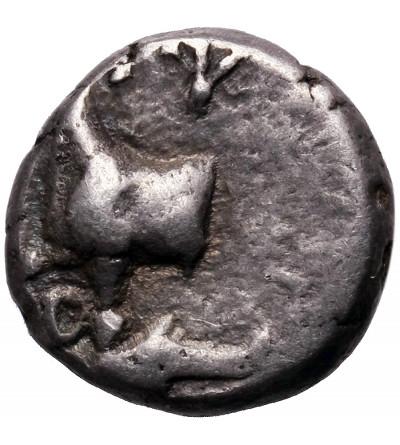 Grecja. Tracja, Byzantion. AR Hemidrachma ok. 357-340 p.n.e.
