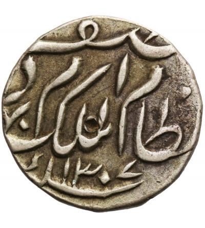 Indie - Hyderabad 1/2 rupii AH 1307 / 1889 AD, Mir Mahbub Ali Khan II