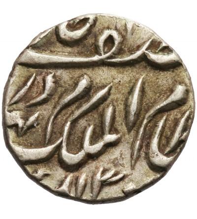 Indie - Hyderabad 1/4 rupii AH 130? / 1883-1891 AD, Mir Mahbub Ali Khan II