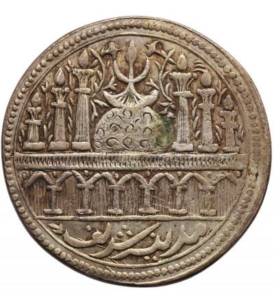 Indie - Tempel Token (moneta świątynna), meczet z kolumnami, Madinah Shareef