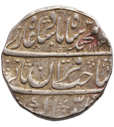 Indie - Imperium Wielkich Mogołów. Rupia AH 1136 rok 6 / 1724 AD, Muhammad Shah 1719-1748 AD