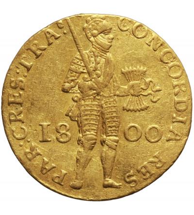 Niderlandy, Republika Batawska. Dukat 1800, Utrecht