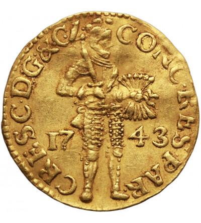 Niderlandy. Dukat 1743, Geldria