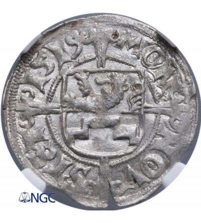 Pomorze, Bogusław X 1478-1523. Szeląg 1519, Szczecin - NGC MS 64