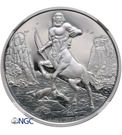 Niue 2 dolary 2016, Mitologia Grecka Centaur (1 Oz Ag 9999) - NGC PF 70 Ultra Cameo