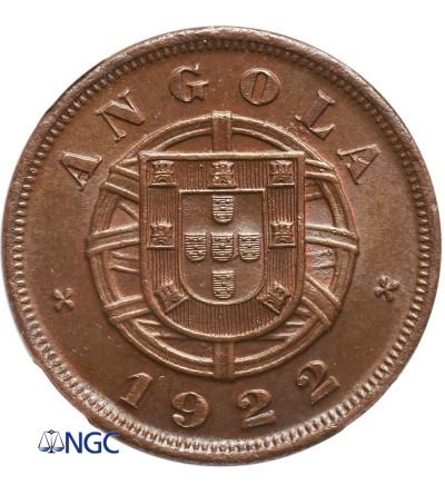 Angola 5 Centavos 1922 - NGC MS 64 BN