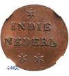 Wschodnie Indie Holenderskie. Duit (Swam Duit) 1836, (Pattern - Próba) - NGC MS 65 BN
