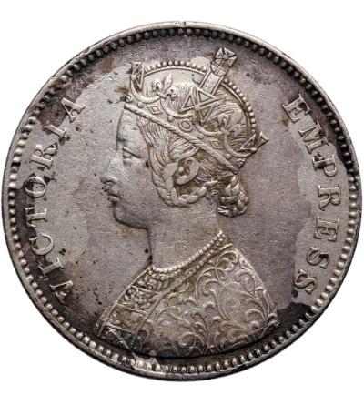 Indie - Alwar, 1 rupia 1880, Mangal Singh 1874-1892 / Wiktoria