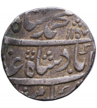 Indie - Imperium Wielkich Mogołów. Rupia AH 1157 rok 26 / 1744 AD, Itawa, Muhammad Shah 1719-1748 AD