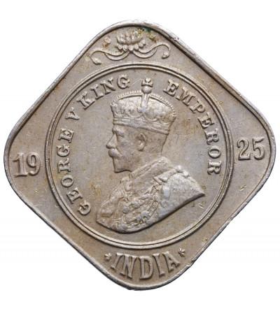 Indie Brytyjskie, 2 Annas 1925 (b), Jerzy V