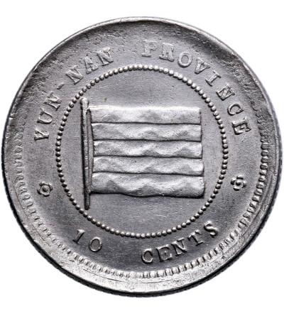 China, Yunnan. 10 Cents Year 12 (1923 AD)