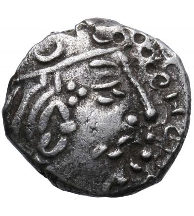 Southern Ancient India. AR Garuda Drachm (Kshatrapa style), Kumaragupta I 414-455 AD