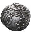 Indie południowe. Imperium Guptów. AR Garuda Drachma (Kshatrapa style), Kumaragupta 414-455 AD