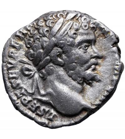 Rzym Cesarstwo. Septymiusz Sewer 193-211 AD. AR denar ok. 196-197 AD, Rzym
