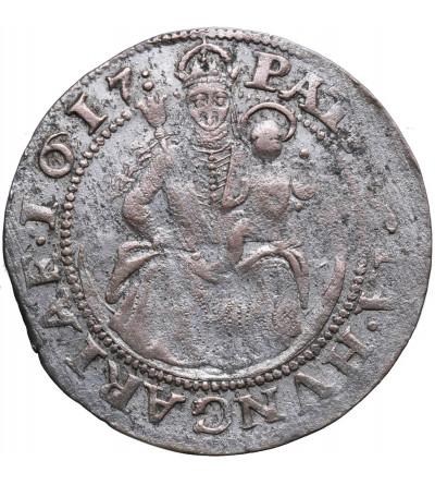 Hungary. Groschen 1617 NB, Nagybanya. Matthias 1612-1619