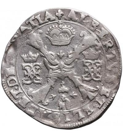 Niderlandy Hiszpańskie - Flandria (Belgia). Talar (Patagon) bez daty, mennica Brugia. Albert i Izabela 1598-1621
