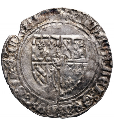 Niderlandy (Belgia), Flandria. Podwójny Patard bez daty, Brugia, Karol Śmiały 1467-1477