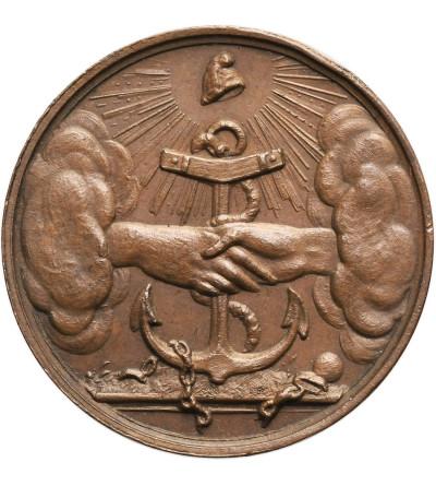 Belgia / Polska. Medal 1833 wybity przez Belgów w trzecią rocznicę wybuchu Powstania Listopadowego