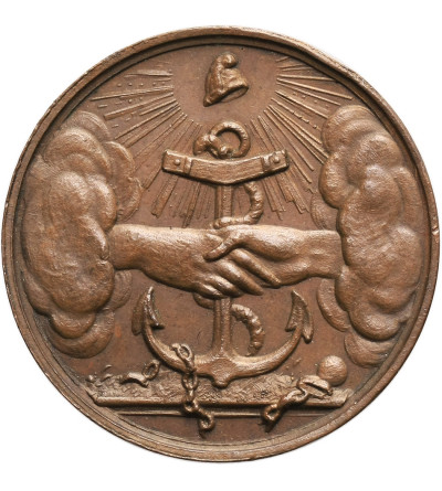 Belgie / Poland. Bronze medal 183, minted by the Belgians on the third anniversary of the November Revolutions