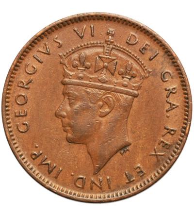 Kanada. Nowa Fundlandia 1 cent (Small Cent) 1941 C, Jerzy VI