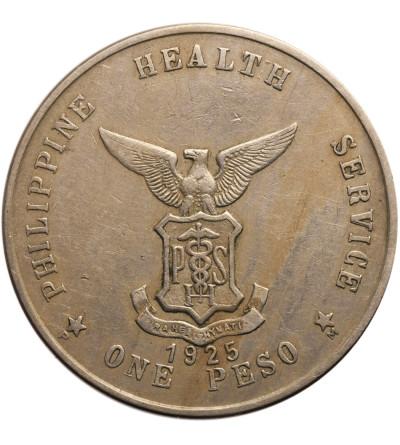Filipiny 1 Peso 1925, Culion - kolonia trędowatych