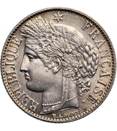 Francja 1 frank 1888 A
