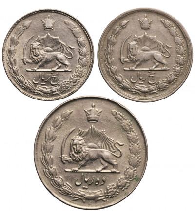Iran 5 Rials SH 1344, SH 1352, 10 Rials SH 1335