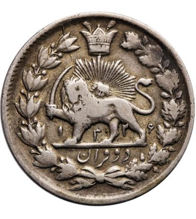 Iran 2000 Dinars (2 Kran) AH 1326 / 1908 AD, Muhammad Ali Shah