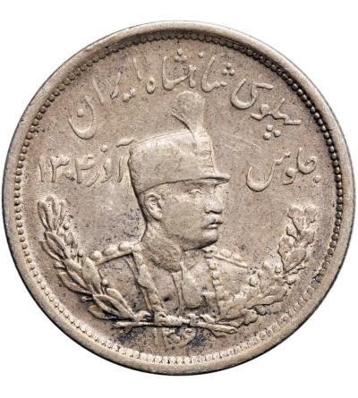 Iran 2000 Dinarów (2 Kran) SH 1306 L / 1927 AD